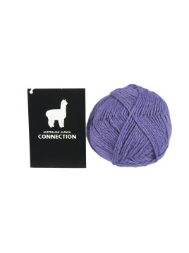 YARN HAND KNITTING 8PLY VIOLET